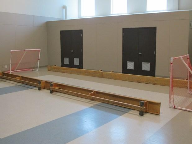 Floor Hockey Area