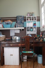 scrapbooking room