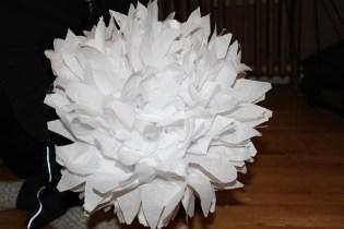 tissue snowflakes