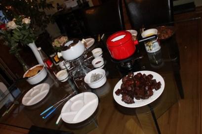Family fondue night!