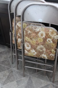 Ugly folding chairs