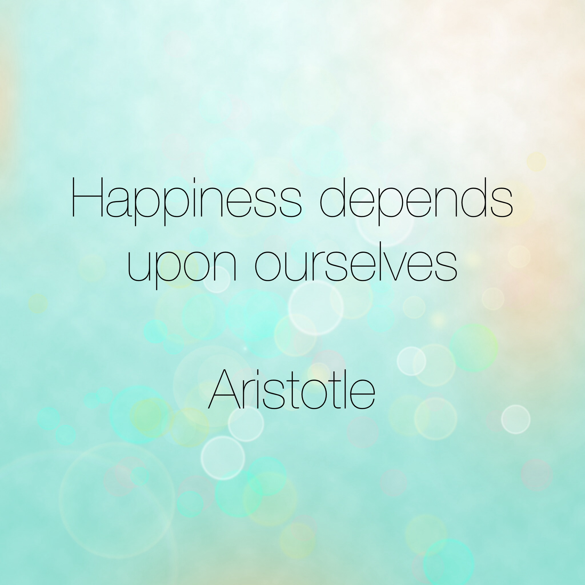 essay happiness depends upon ourselves