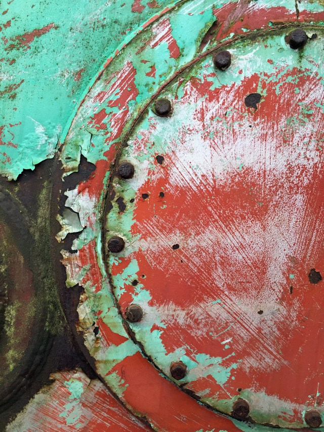 Green Red Abstract