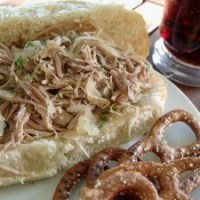Pork and Sauerkraut Sandwiches for #SundaySupper