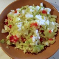 PA Dutch Pepper Cabbage for #SundaySupper