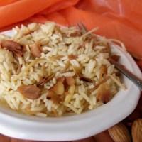 Lebanese Rice #SundaySupper