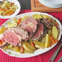 Beef Roast and Cabbage #RoastPerfect #SundaySupper