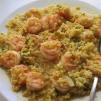 Shrimp Acini de Pepe #TheRecipeReDux