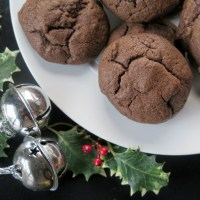 Mocha Drop Cookies #ChristmasCookies