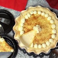 Eggnog Pie #SundaySupper