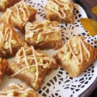 Pumpkin Spice Peanut Butter Bars #Krusteaz #PumpkinSpiceBlogger #Giveaway AD