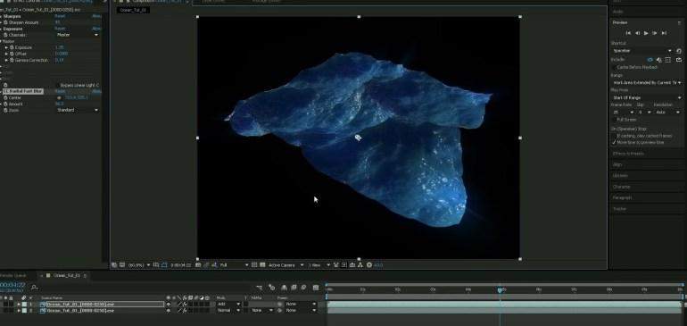 Oceano realistico con Cinema 4D