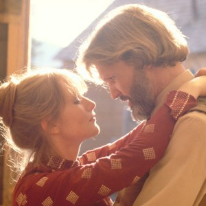 Isabelle Huppert and Kris Kristofferson in Michael Cimino's HEAV