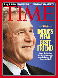 Bush-India