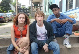 "(L-r) Olivia Cooke, Thomas Mann and RJ Cyler star in Fox Searchlight's ""Me and Earl and The Dying Girl"""