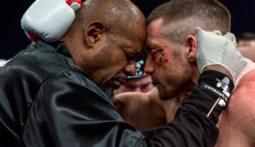 """Forest Whitaker and Jake Gyllenhaal star in The Weinstein Company's """"Southpaw"""""""