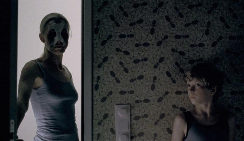 Susanne Wuest and Elias Schwarz star in Radius-TWC's GOODNIGHT MOMMY