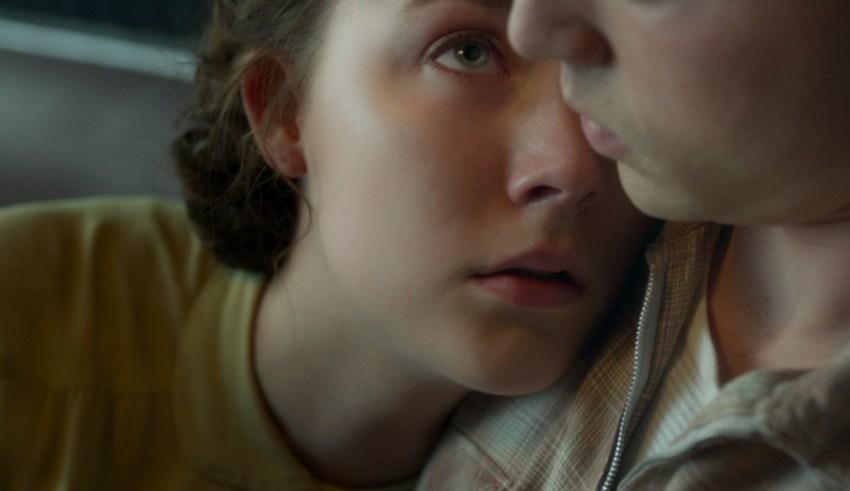 "Saoirse Ronan as ""Eilis"" and Emory Cohen as ""Tony"" in Fox Searchlight's BROOKLYN"