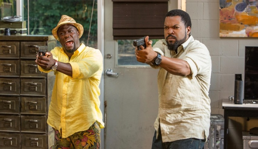 "Kevin Hart and Ice Cube star in Universal's ""RIDE ALONG 2"""