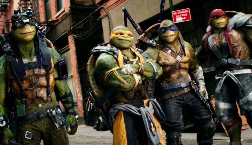 Paramount Pictures' TEENAGE MUTANT NINJA TURTLES: OUT OF THE SHADOWS
