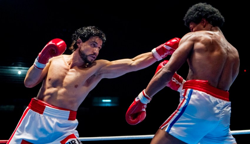 Edgar Ramírez and Usher Raymond star in HANDS OF STONE