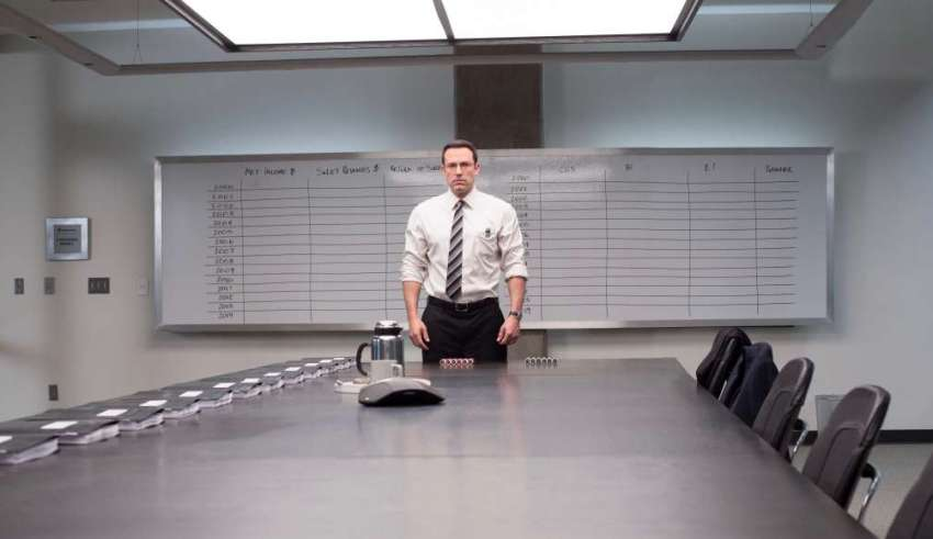 Ben Affleck stars in Warner Bros. Pictures' THE ACCOUNTANT