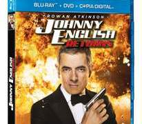 Johnny English en Blu-Ray.