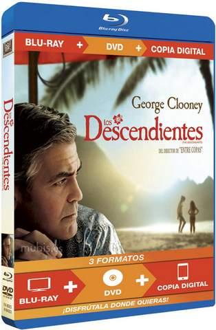 Los Descendientes en Blu-Ray.