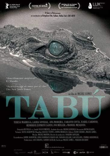 Póster de 'Tabú'.