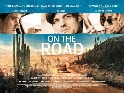 """On the road"", banner."