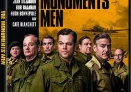 Carátula DVD de Monuments Men