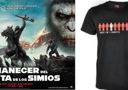 ¿Quieres una camiseta de El Amanecer del planeta de los simios?, de estreno en cines el 18 de julio