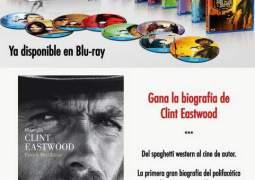 Concurso Clint Eastwood, consigue su primera gran Biografía