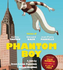 Póster de Phantom Boy