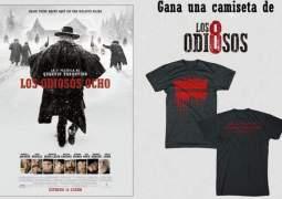 """Concurso """"Los Odiosos Ocho"""". Sorteamos 5 geniales camisetas de la nueva película de Quentin Tarantino"""