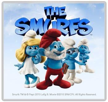 The Smurfs 2 3d Live Wallpaper Grande Puffo E Puffetta Nel Nuovo Artwork Da Quot I Puffi 3d