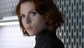 Scarlett Johansson nei panni di Vedova Nera
