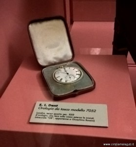 Bologna, Museo Internazionale della Musica, sala Rossini, orologio appartenuto a Gioachino Rossini