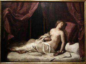 Cleopatra morente, 1648, Guercino