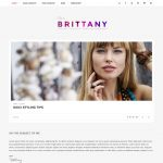 Brittany WordPress Template