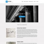 Factum WordPress Template