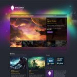 Indigamer WordPress Template