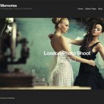 Memories WordPress Template