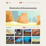 Mozzy WordPress Template