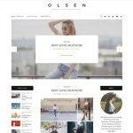 Olsen WordPress Template