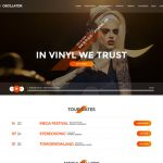 Oscillator WordPress Template