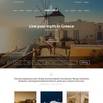 Santorini WordPress Template