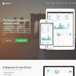 Struct WordPress Template