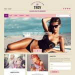 Troy WordPress Template