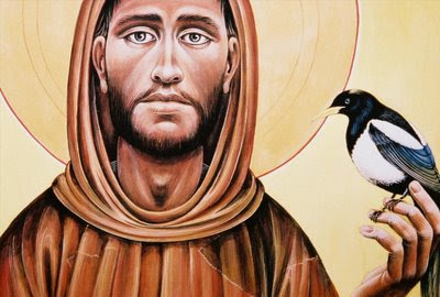 francisofassisi-and-bird